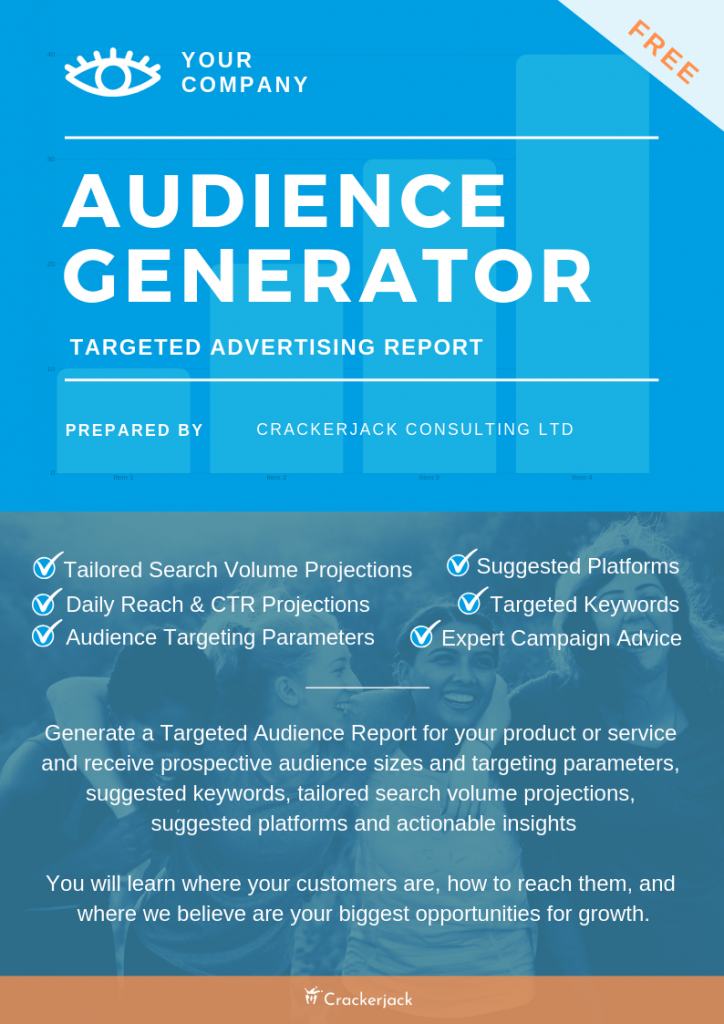Audience Generator with Details - Targeting Free Report