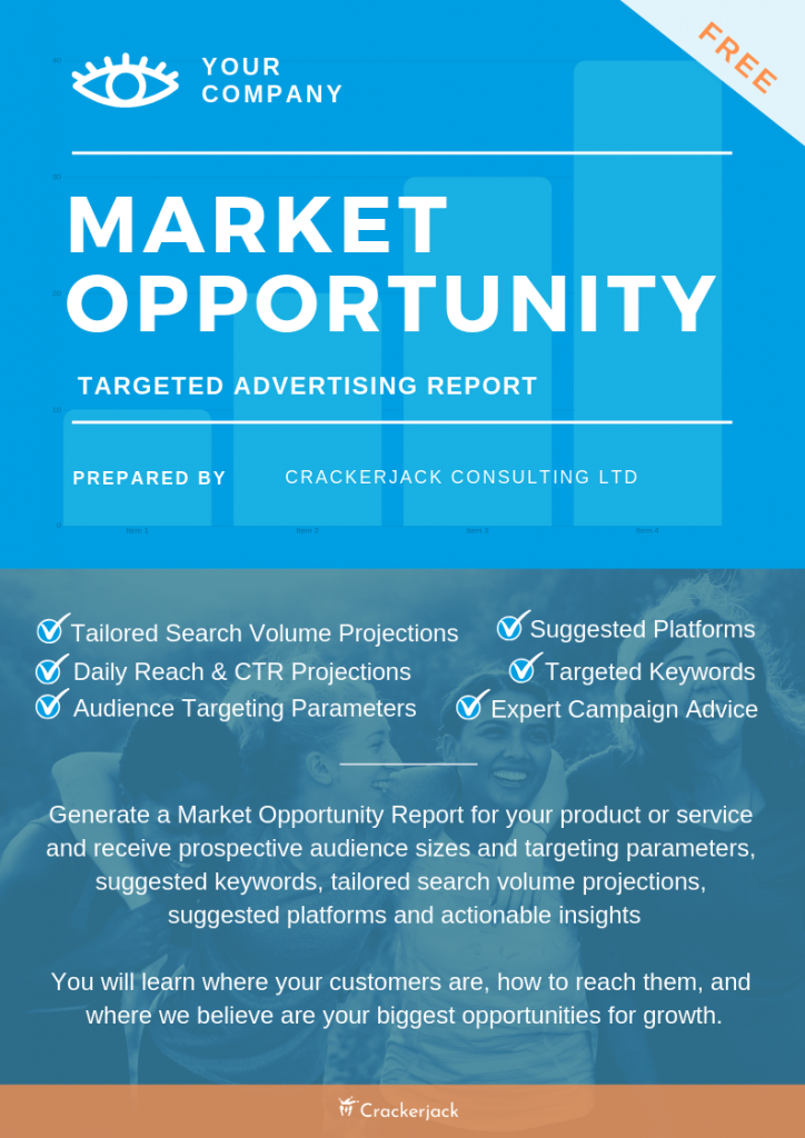 Market Opportunity with details - Targeting Free Report